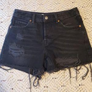 Topshop jean shorts Ashley